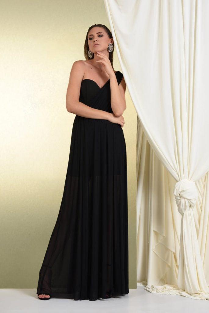 Rochie de seara din tul negru