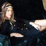 Rochie eleganta stil blazer cu umeri drapati