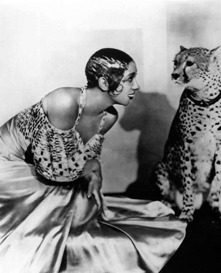 Josephine Baker si eterna ei atractie pentru jungle