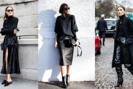Outfituri maleta neagra