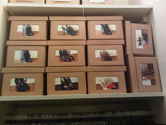 Cutii de pantofi cu poze