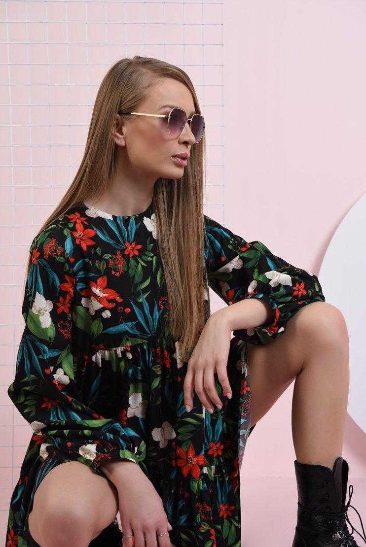 Rochie lejera cu flori