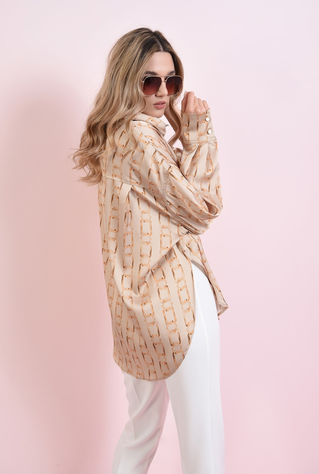 Camasa tunica asimetrica