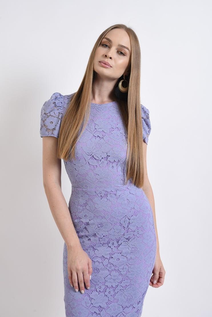 Rochie eleganta lavanda